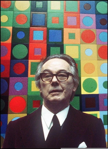 a biography of victor vasarely the father of op art Hungarian-born victor vasarely is known as a founder of optical art vasarely was born in pecs and grew up in piešťany (then pöstyén) and budapest.
